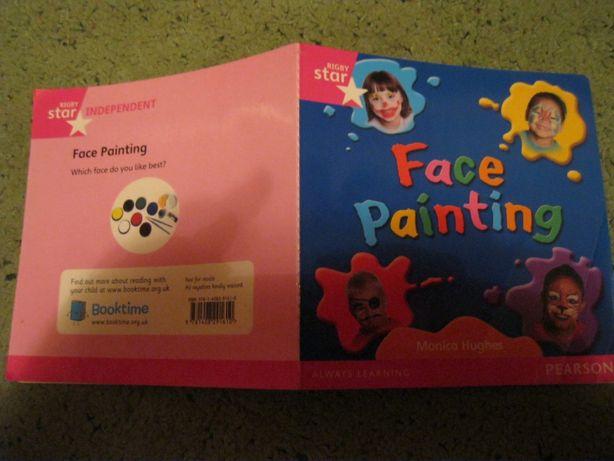 детская книга английский язык рисунки на лице face painting