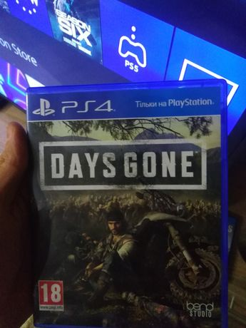 Игры на ps4 Days Gone (Жизнь после)