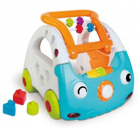 Sensory  Мой автомобиль 3в1 развивающий центр ходунки каталка