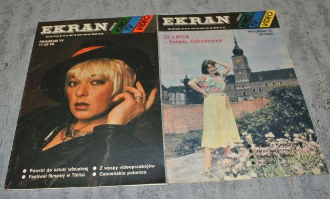 Ekran - program TV nr 28 oraz nr 29