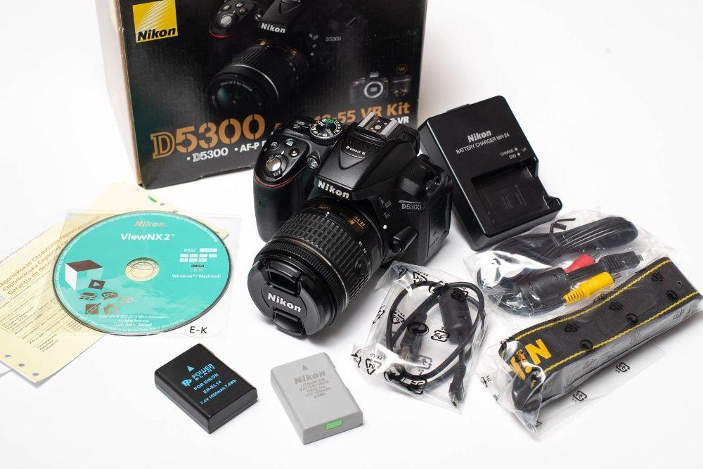 Nikon D5300 AF-P 18-55 VR Kit Днепр - изображение 1
