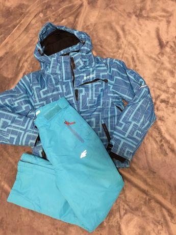 Zestaw narciarski kurtka 146 hi-tec spodnie 4f