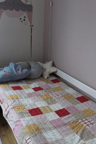 Narzuta ikea na łóżko dwustronna dla dziewczynki
