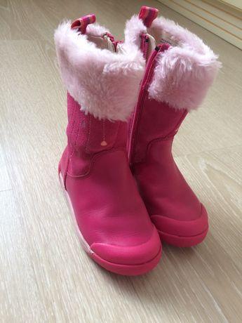 Продам кожаные сапожки,ботинки,обувь,черевички,Clarks,24р.