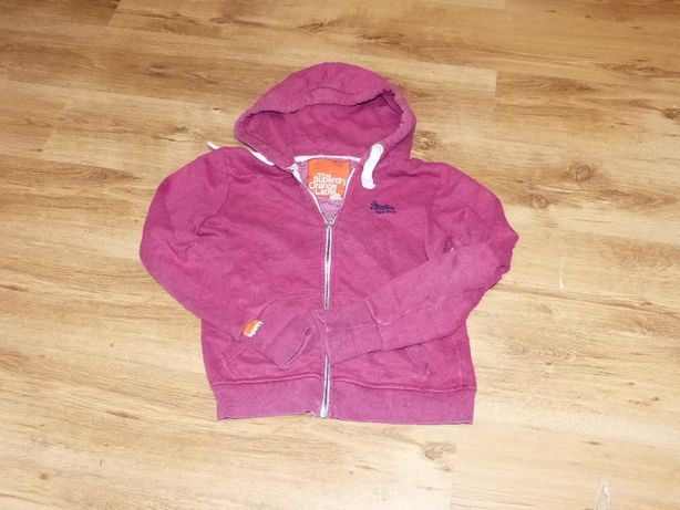 The Superdry Orange Label Bluza Kaptur Bawełna DAMSKA L