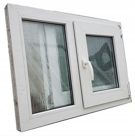 Okna KacprzaK Okno Pcv 87X62 Używane Plastikowe