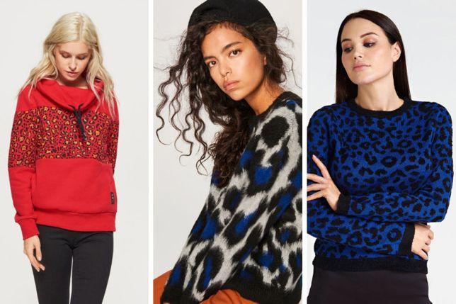 Jak nowy sweter RESERVED r. S/M zwierzęcy wzór