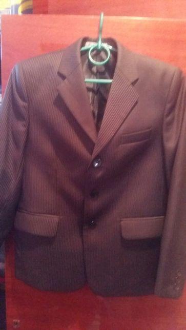 Пиджак +брюки костюм школьный костюм
