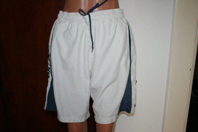 Reebok krótkie spodenki sportowe męskie białe M