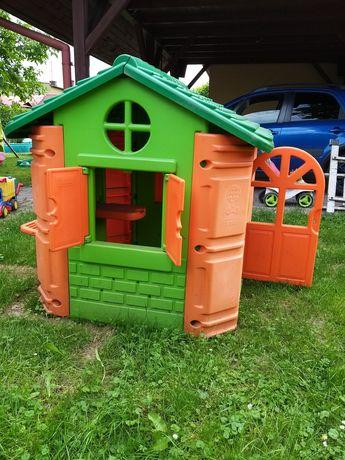 FEBER mały domek plastikowy dla dzieci plac zabaw  Little tikes