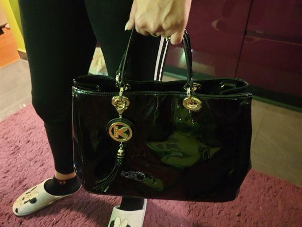 KAZAR torebka damska lakierowana