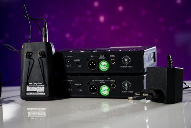 Zestaw bezprzewody Monacor IMG Stage Line TXS 830 mikrofon