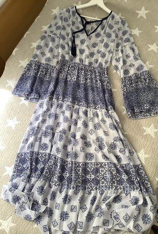 Vestido Comprido Michael Kors boho style