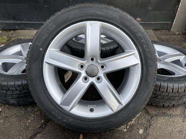 Oryginał koła nowe 225/50R17 Audi 8K0 A4 B8 B9 A6 C6 zima Pirelli