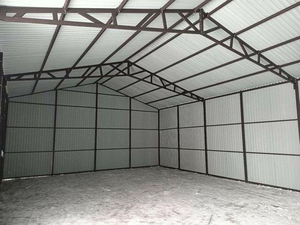 Garaże hale wiaty profil zamknięty