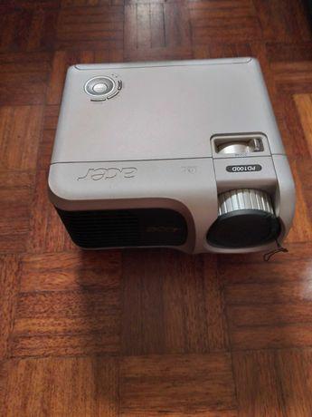 Projector + Tela , Acer DLP  PD100D