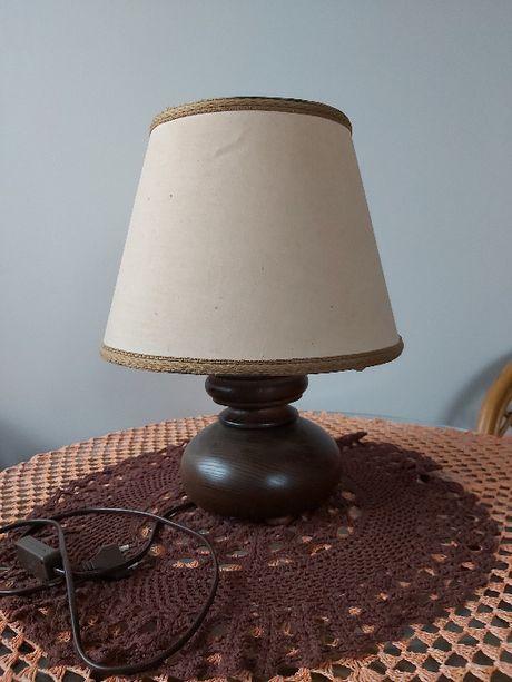 Lampka nocna dębowa