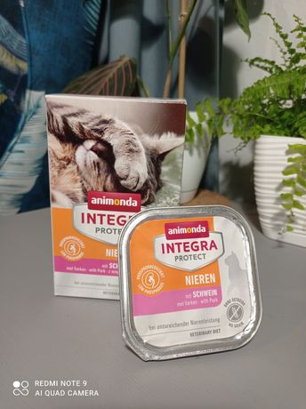 Animonda integra protect nieren wieprzowina, karma dla kota