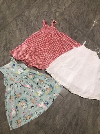 Sukienka sukienki h&m 98-110