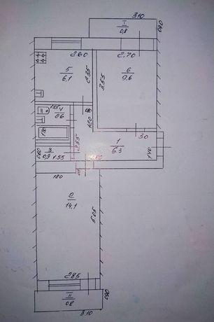 Обменяю две 2-х комнатные квартиры на дом в Лутугино