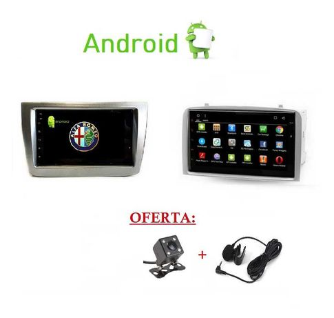 (NOVO) Rádio 2DIN • Alfa Romeo • MiTo • 147 • GT • Android GPS WIFI