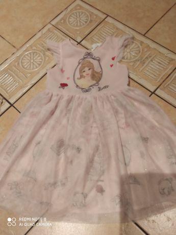 Sukienka Bella księżniczka Piękna i Bestia HM 110