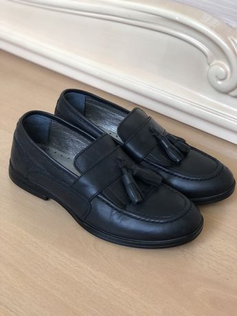 Повністю шкіряні туфлі на хлопчика//Кожаные туфли на мальчика