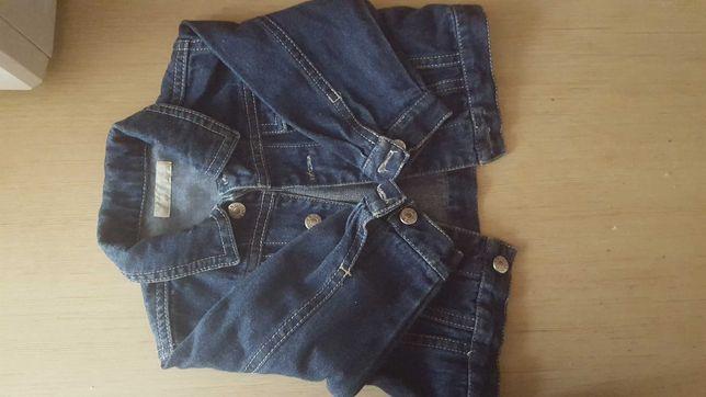 Kurteczka jeans ZARA 6-9 M.