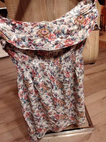 Sukienka bluzka kamizelka.