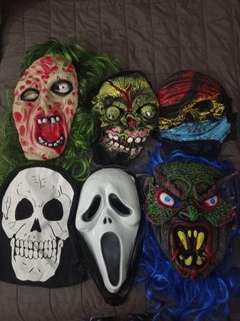 Маски хеллоуин опт