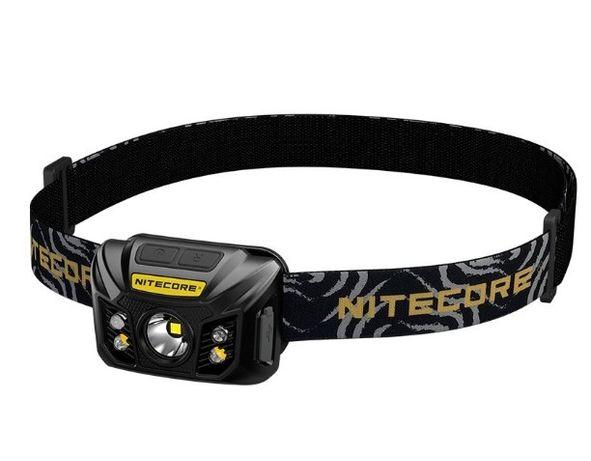 Фонарь налобный Nitecore NU32 со встроенным аккумулятором 1800mAh
