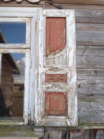 Stare okiennice drewniane