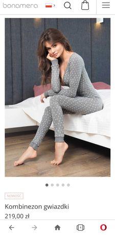 Nowy Kombinezon bonamera piżama r. M