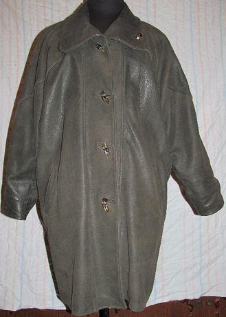 Женская кожаная куртка.