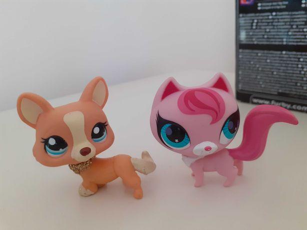 Petshop dwie zabawki nowe Mikołajki