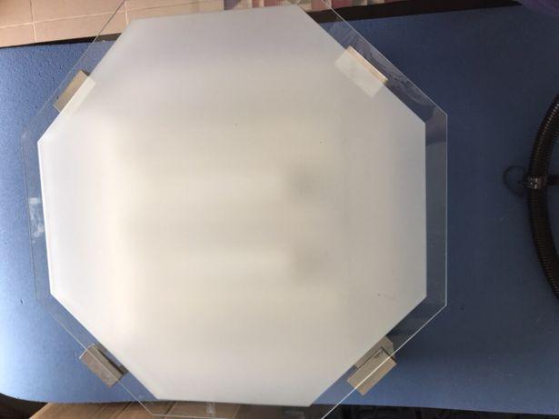 Candeeiro Plafond de Cozinha - Grande + Lâmpadas 24Wx3