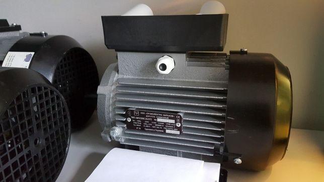 Електродвигун однофазний 220В мотор редуктор инвертор электродвигатель