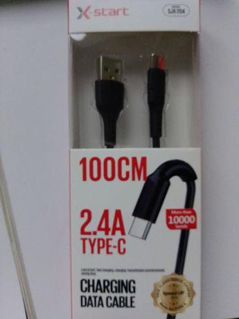 Kabel do ładowania typ C