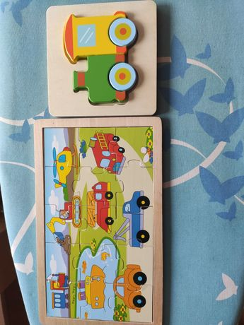 Układanki puzzle dla maluszka