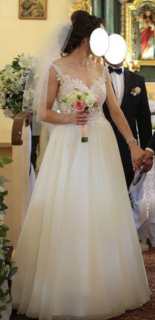 Suknia ślubna, gala akemi, ivory