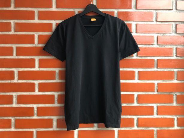 Hugo Boss Orange мужская Базовая чёрная футболка размер М хуго босс Б