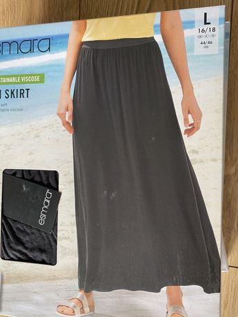 Spódnica maxi czarna