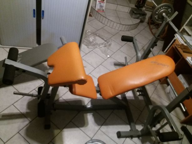 Ławka do ćwiczeń (2szt.) +gryf+gratis