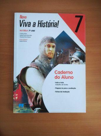 """Caderno de atividades """"Viva a história""""- 7º ano"""