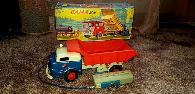 Blaszana ciężarówka 298 Faun firmy Gama.Okazja! Połowa ceny aukcyjnej!
