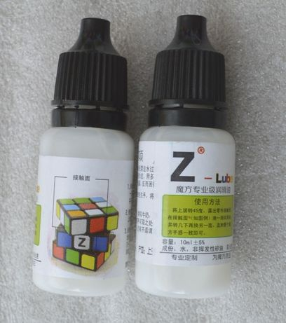 Смазка Z-LUBE для кубика Рубика, мегаминкса.