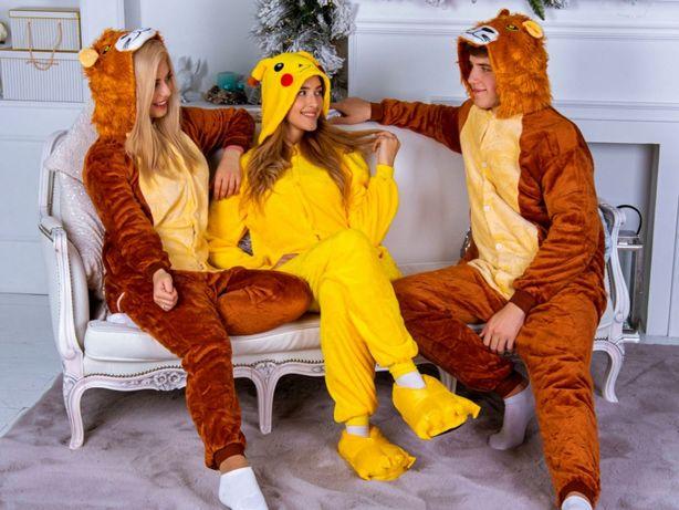 Кигуруми - уютная пижама для мальчиков и девочек ФЛИС