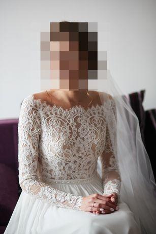 Rustykalna suknia ślubna ARAGONITE- Herm's Bridal