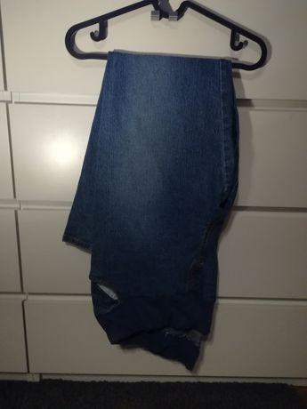 -80% spodnie ciążowe r. L na gumce + nosidlo chicco podgrzewacz canpol