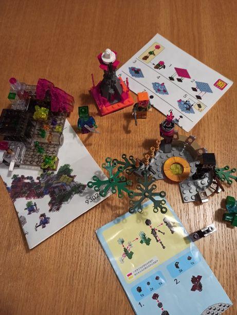 3 zestawy Klocków podróbka LEGO Minecraft z instrukcją